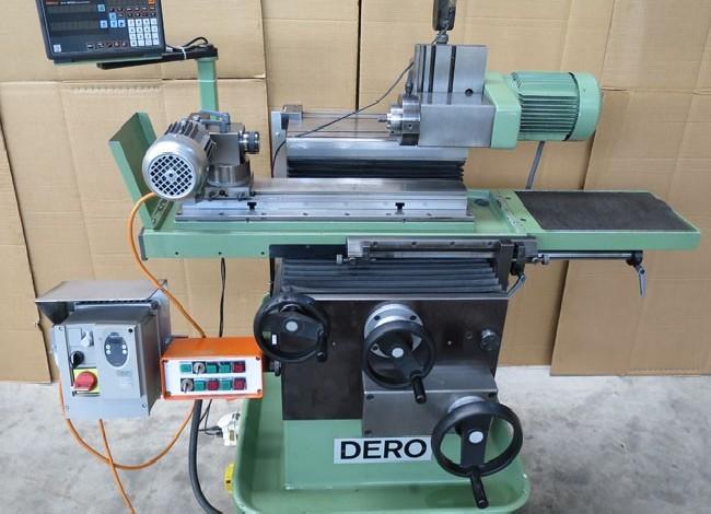 Станок для затачивания инструментов - универсал DERO 75 фото на Industry-Pilot
