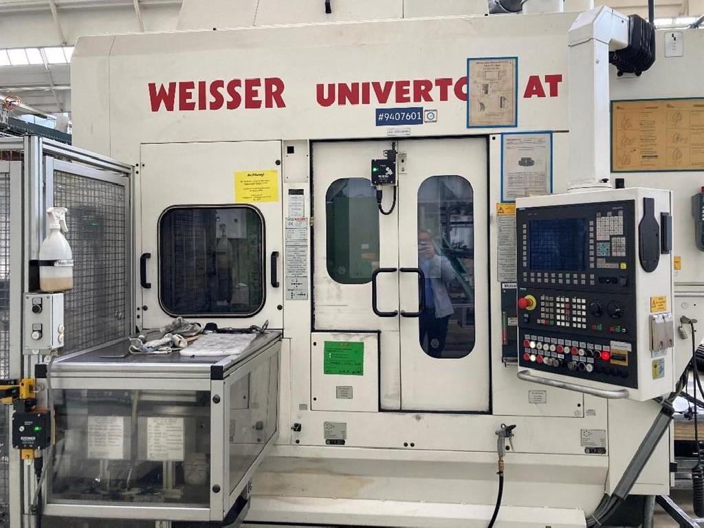 Токарный станок с ЧПУ WEISSER UNIVERTOR AT 90 R фото на Industry-Pilot
