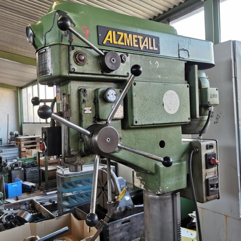 Pillar Drilling Machine ALZMETALL AB 4 SV photo on Industry-Pilot