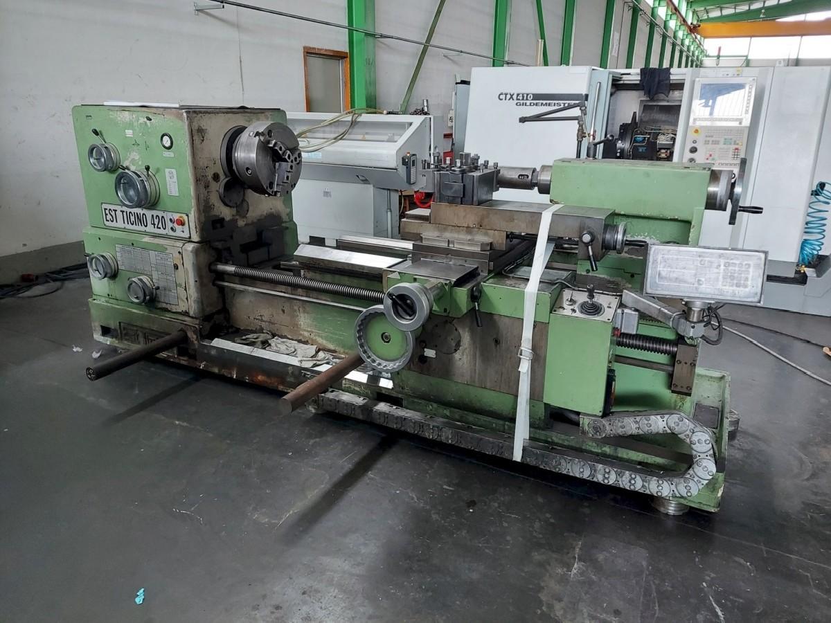 Screw-cutting lathe EST-TICINO 420x1500 photo on Industry-Pilot