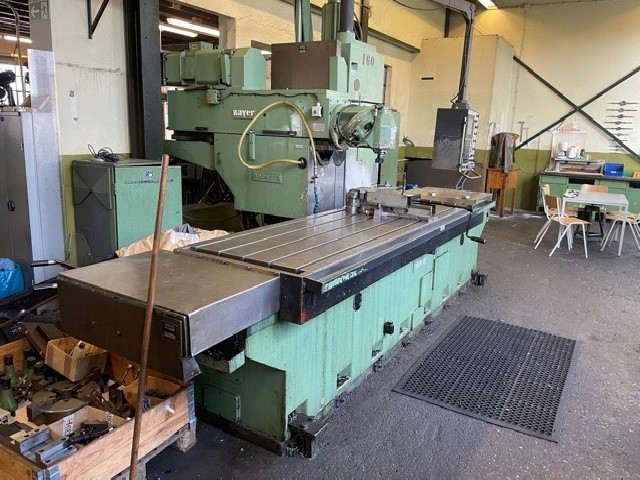 Bed Type Milling Machine - Universal ZAYER 3000 BF 3 photo on Industry-Pilot