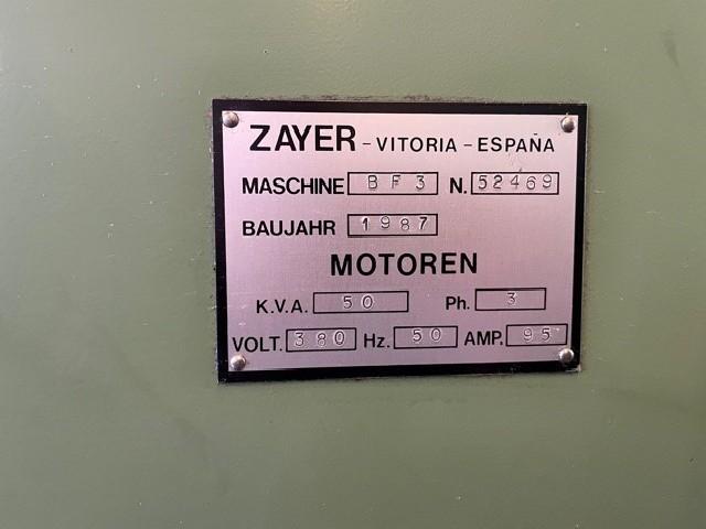 Продольно-фрезерный станок - универсальный ZAYER 3000 BF 3 фото на Industry-Pilot