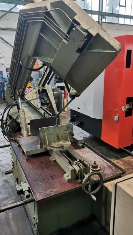 Ленточнопильный станок по металлу - гориз. полуавтоматический FORTE F 400 фото на Industry-Pilot