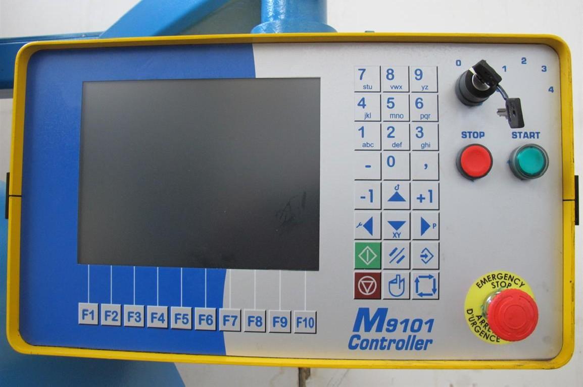 Листогиб с поворотной балкой LOTZE DZS 40 / 80 фото на Industry-Pilot