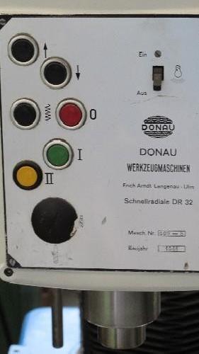 Скоростной радиально-сверлильный станок DONAU DR 32 фото на Industry-Pilot