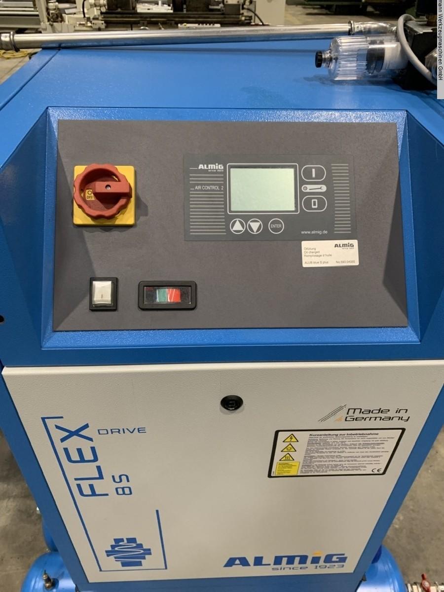 Screw air compressor ALMIG Flex 8 S photo on Industry-Pilot