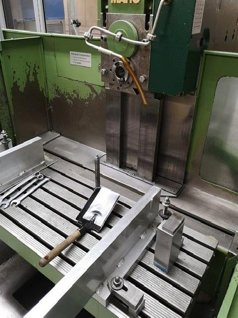 Bed Type Milling Machine - Universal MAHO MH 600 E FRÄSSPINDEL photo on Industry-Pilot