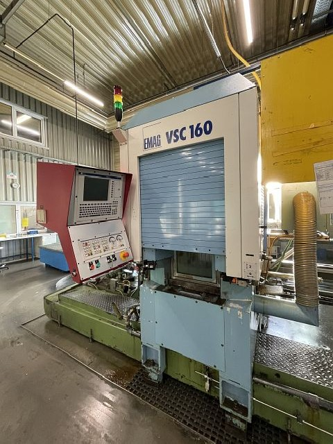 CNC-Vertical Turret Turning Machine - Single Col. EMAG VSC 160 photo on Industry-Pilot