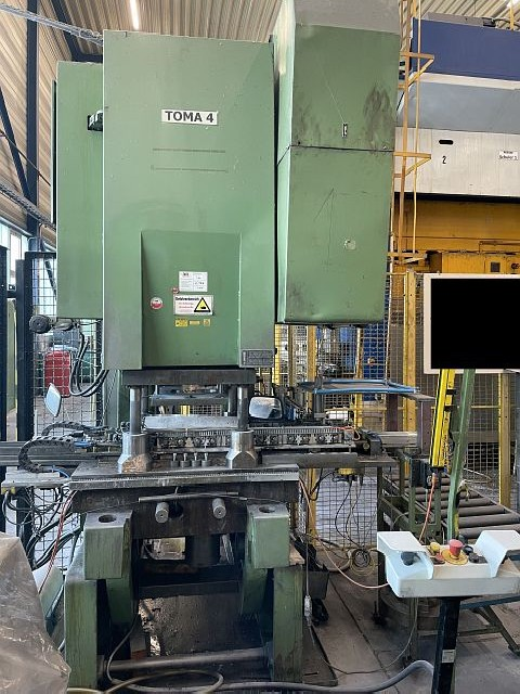 Eccentric Press - Single Column TOMA LEXN 100 C photo on Industry-Pilot