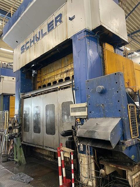Plunger moulding press SCHULER PST 400/10/420 photo on Industry-Pilot