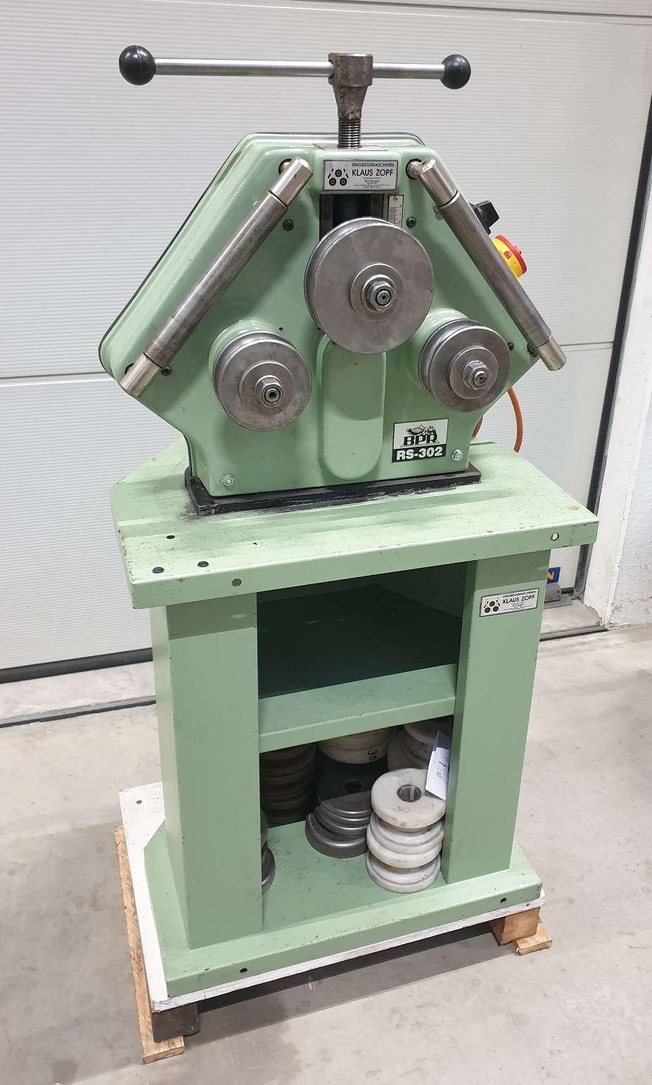 Bending machine horizontal Zopf BPR RS 302 Ringbiegemaschine  photo on Industry-Pilot