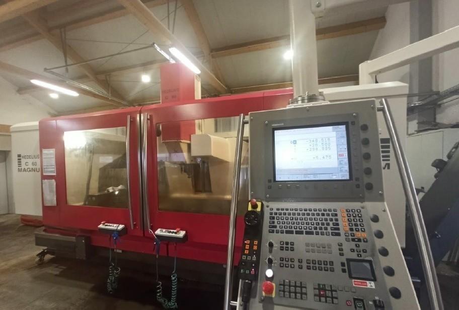 Machining Center - Vertical HEDELIUS C 60 Magnum 4 Achsen photo on Industry-Pilot