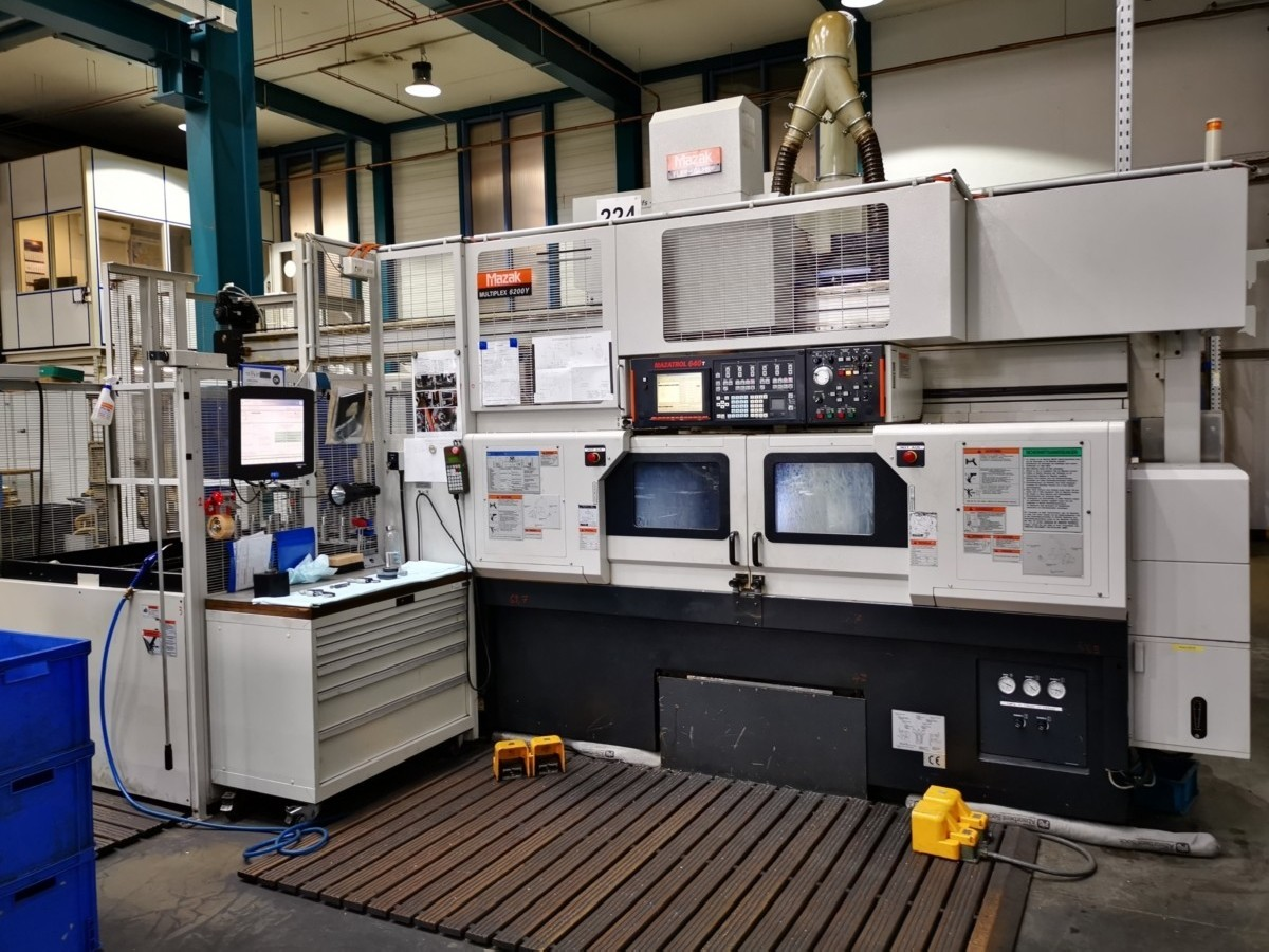 CNC Turning and Milling Machine MAZAK Multiplex 6200 Y photo on Industry-Pilot