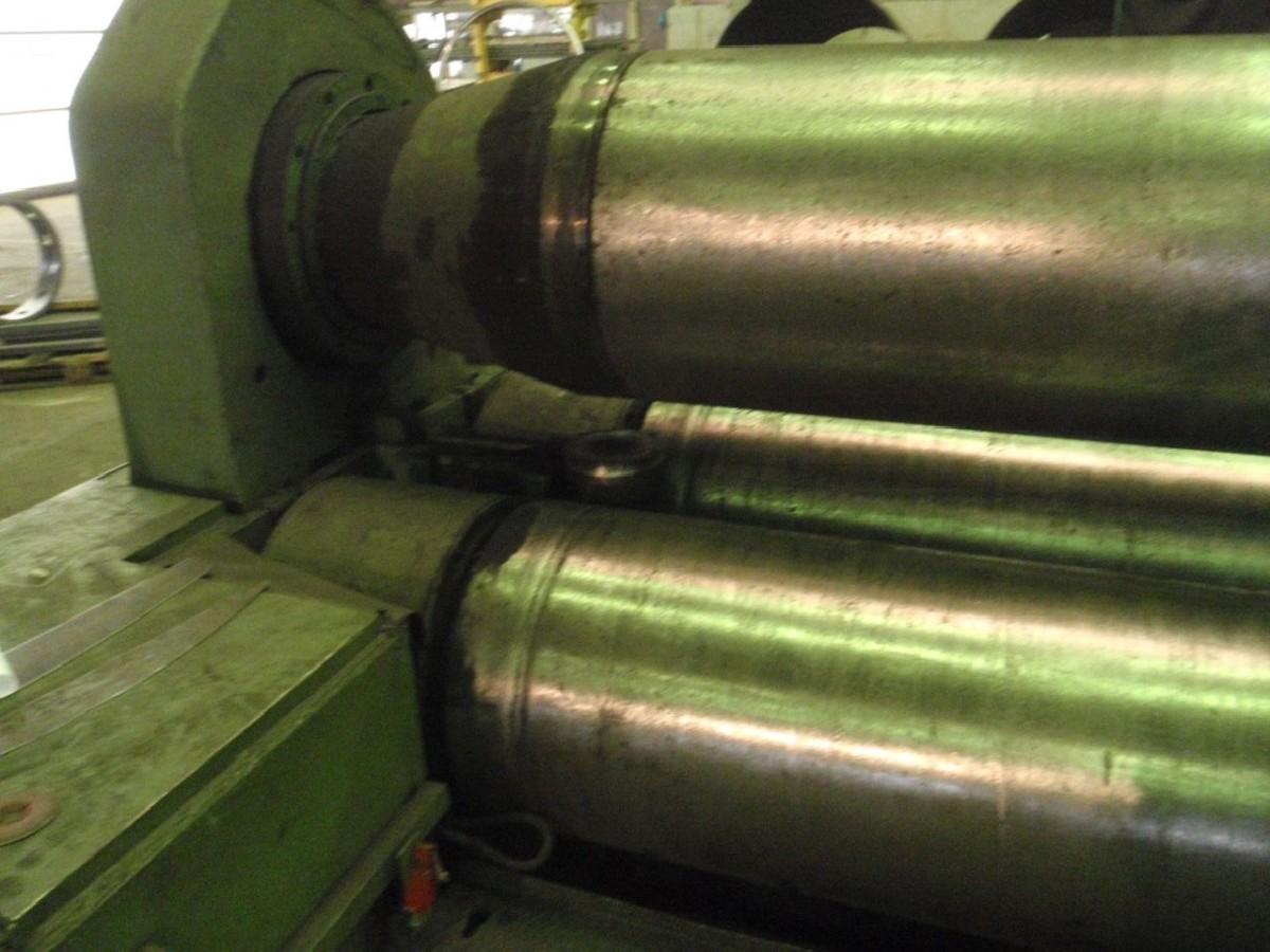 3-вальц. листогибочная машина WMW WILDAU UBBDA 60 x 4500 фото на Industry-Pilot