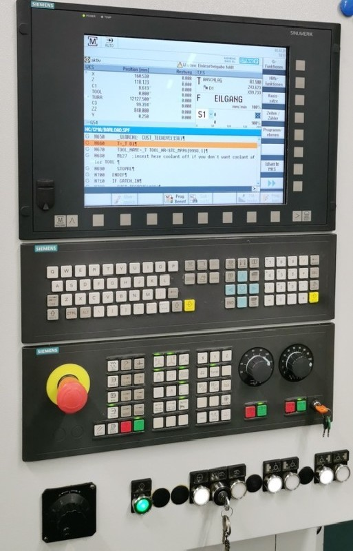 Токарно фрезерный станок с ЧПУ SPINNER TC 600-52 SMCY фото на Industry-Pilot