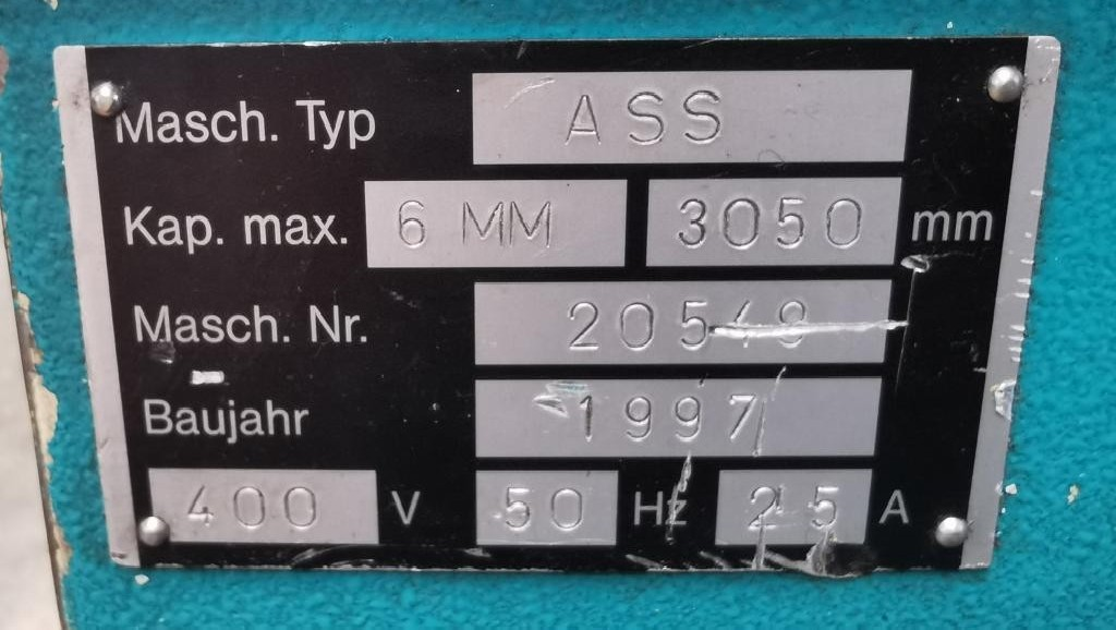 Гидравлические гильотинные ножницы INDUMASCH ASS фото на Industry-Pilot