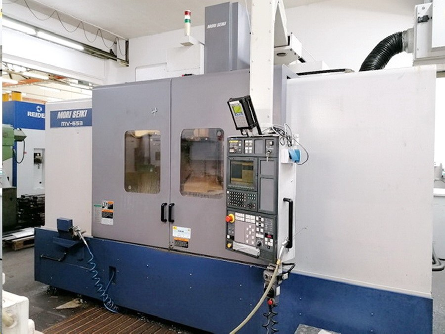 Обрабатывающий центр - вертикальный MORI SEIKI MV 653 / 50 Vertikal фото на Industry-Pilot