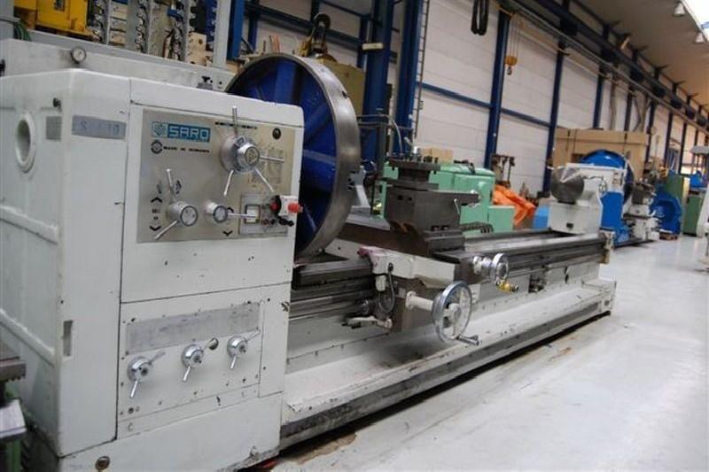 Screw-cutting lathe SARO SPA10X4000 photo on Industry-Pilot