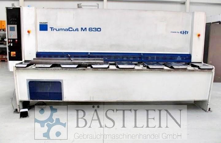 Гидравлические гильотинные ножницы TRUMPF TrumaCut M 630 фото на Industry-Pilot