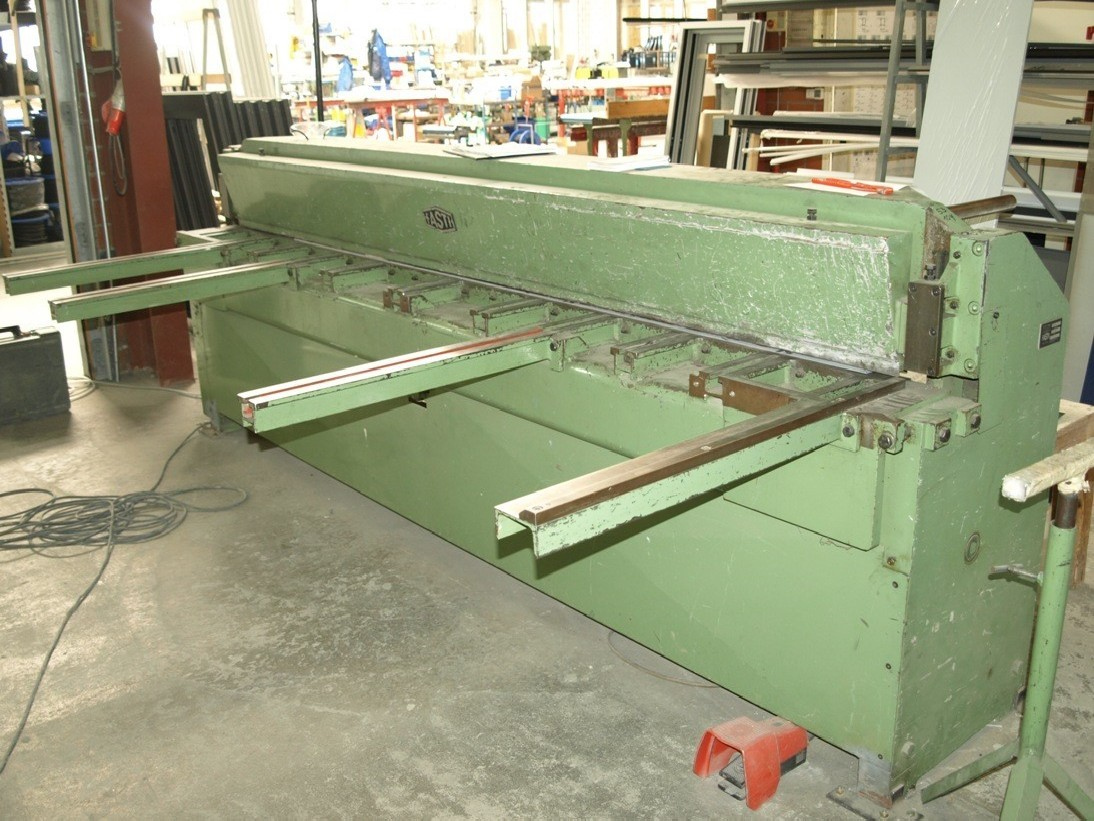 Mechanical guillotine shear FASTI 3030 x 2, Typ 506 photo on Industry-Pilot