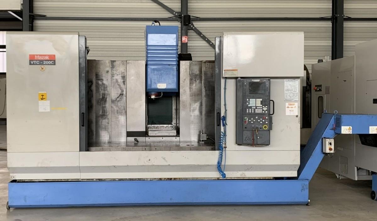 Обрабатывающий центр - вертикальный MAZAK VTC 200C фото на Industry-Pilot