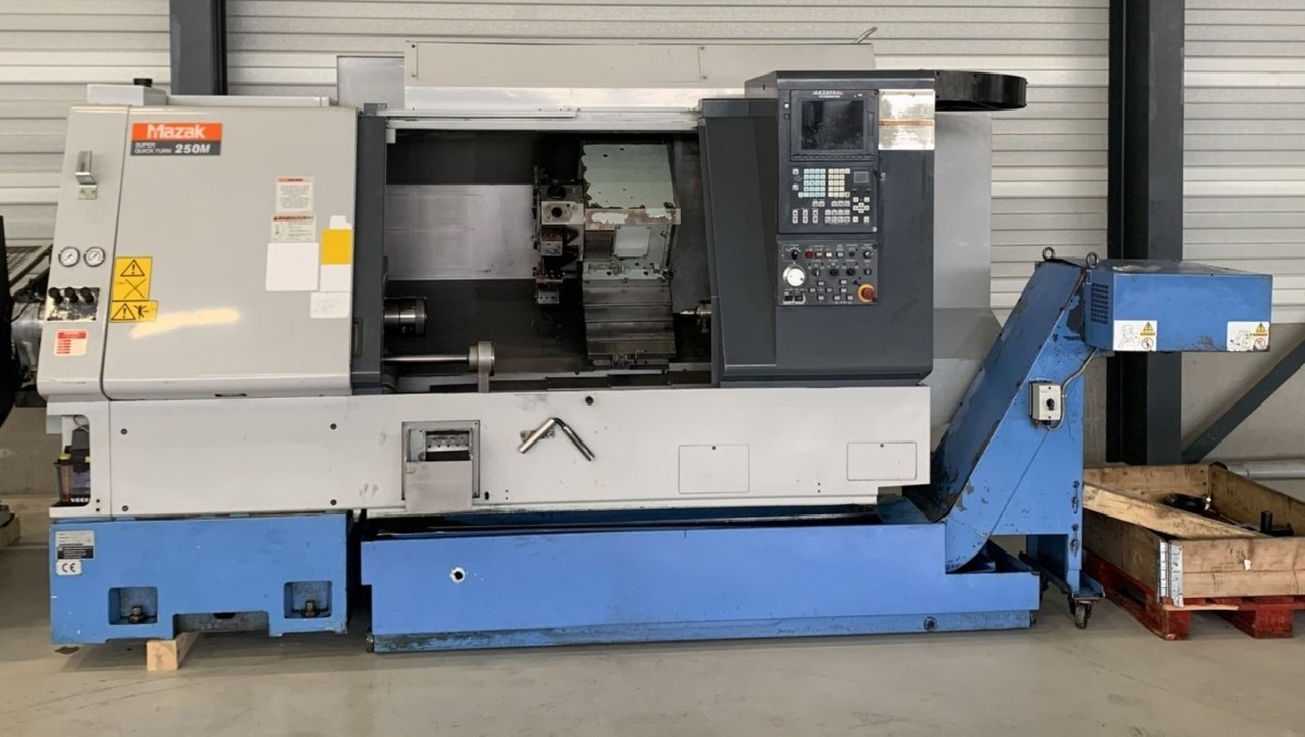 CNC Turning Machine MAZAK Super Quick Turn 250M x 1000 photo on Industry-Pilot