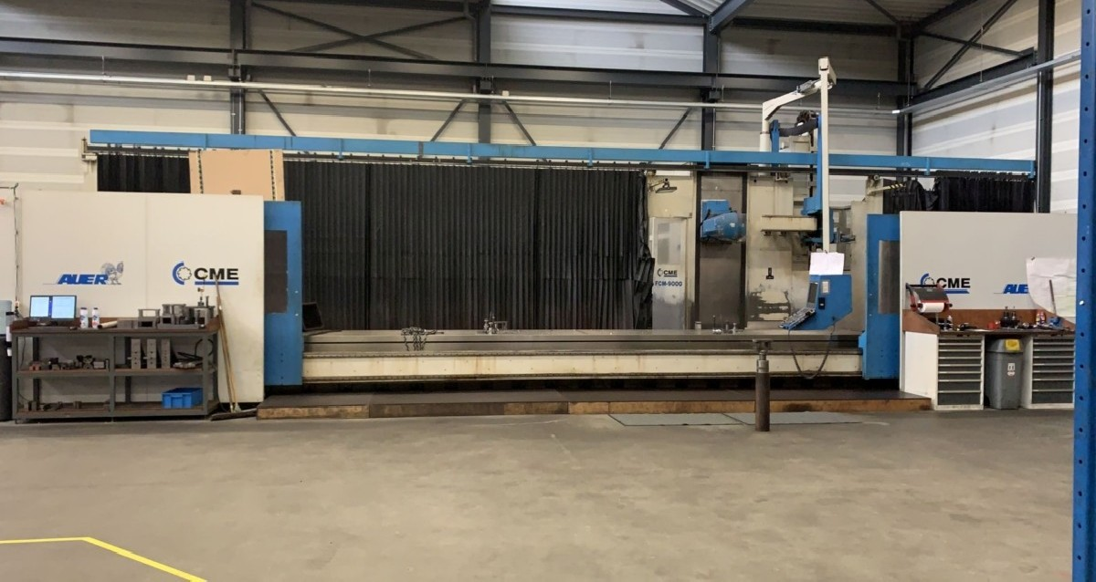 Bed Type Milling Machine - Universal CME FCM 9000 photo on Industry-Pilot