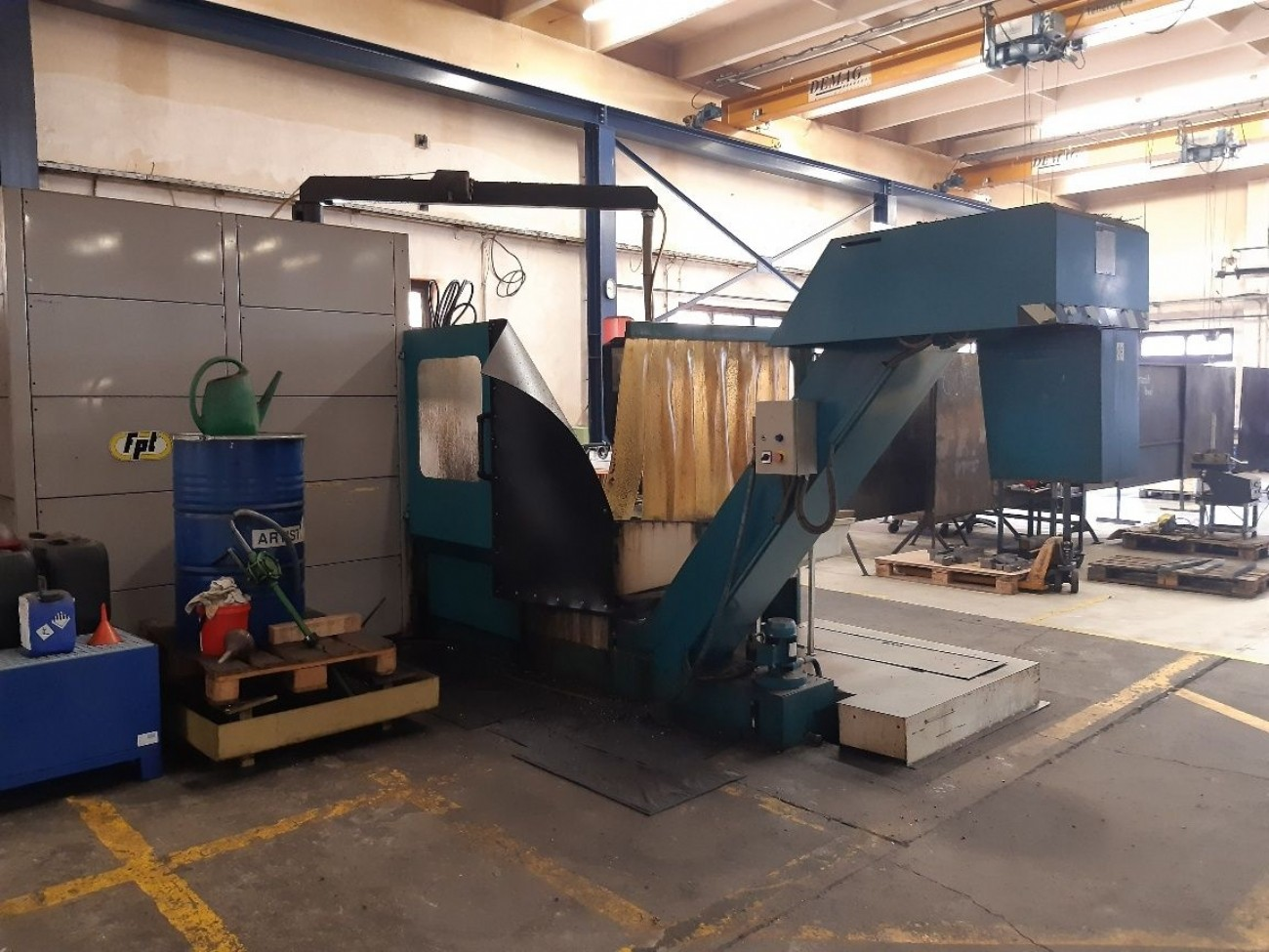 Bed Type Milling Machine - Vertical FPT SPAZIO 20 photo on Industry-Pilot