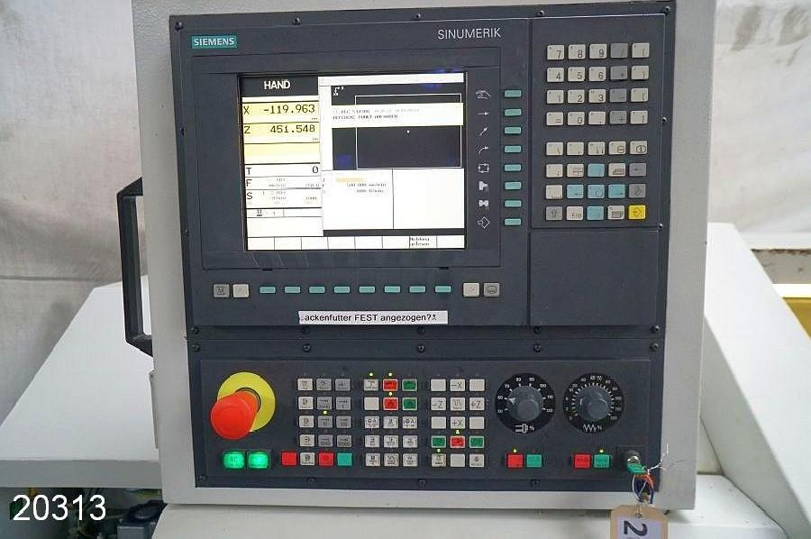Токарный станок - контрол. цикл ROMI M 420 x 1000 / Sinumerik 828 D фото на Industry-Pilot