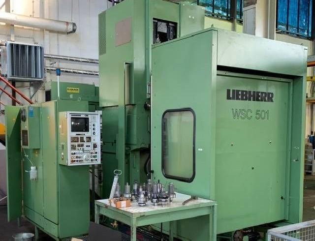 Зубодолбёжный станок LIEBHERR WSC 501 фото на Industry-Pilot