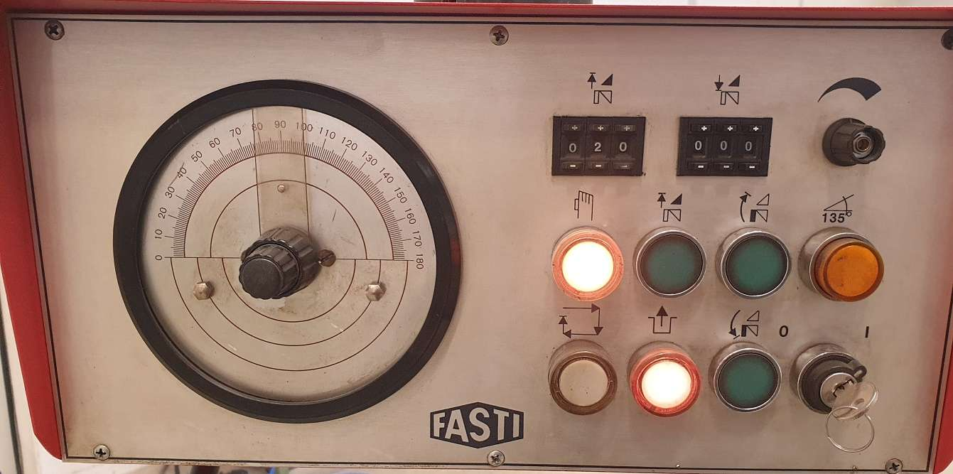 Листогиб с поворотной балкой Fasti 212-20-4 фото на Industry-Pilot