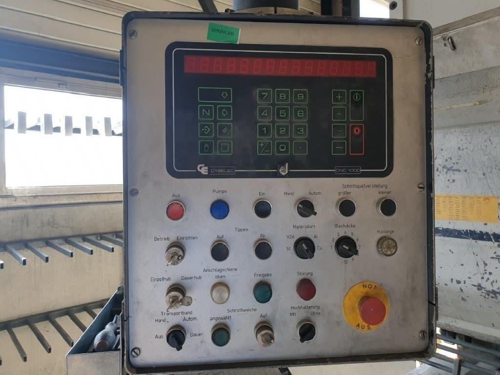Гидравлические гильотинные ножницы WEINBRENNER TSV 6 / 6100 фото на Industry-Pilot