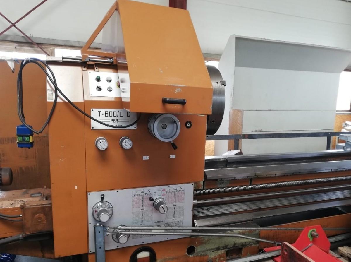 Токарно-винторезный станок PBR T-600 LC фото на Industry-Pilot