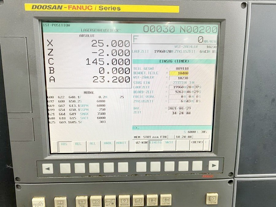 Токарно фрезерный станок с ЧПУ DOOSAN Lynx 220 LMSA фото на Industry-Pilot