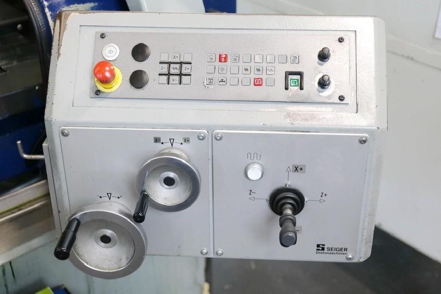 Токарный станок - контрол. цикл SEIGER SLZ 300 E / 750 zyklengesteuert фото на Industry-Pilot
