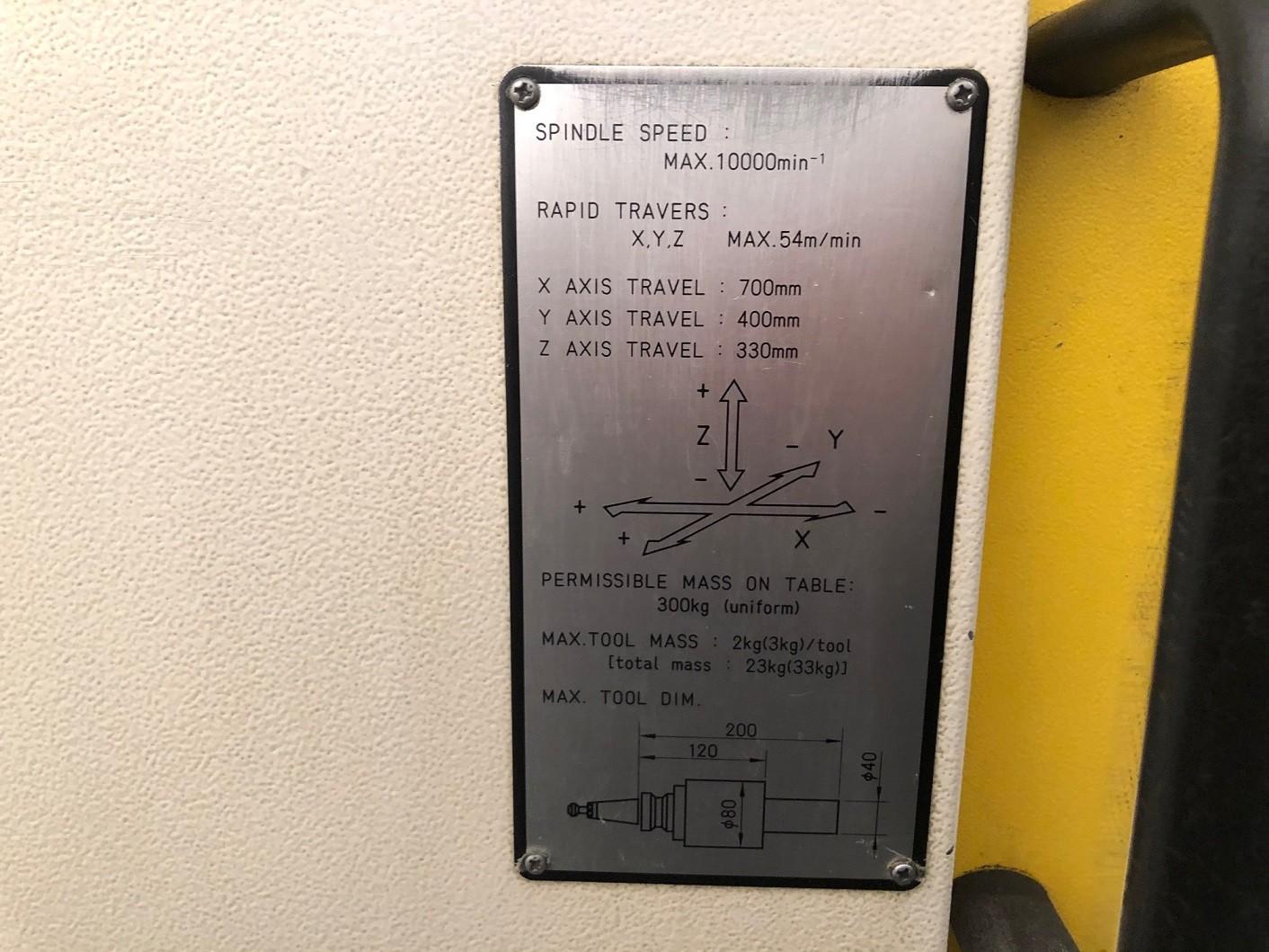 Обрабатывающий центр - вертикальный FANUC ROBODRILL ALPHA T21iFLa фото на Industry-Pilot