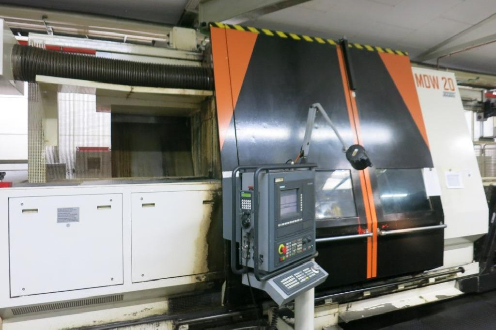 Токарно фрезерный станок с ЧПУ MAX MUELLER MDW 20 M фото на Industry-Pilot