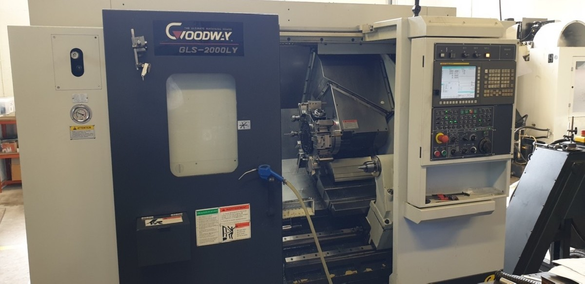 Токарный станок с ЧПУ GOODWAY GLS 2000 LY фото на Industry-Pilot