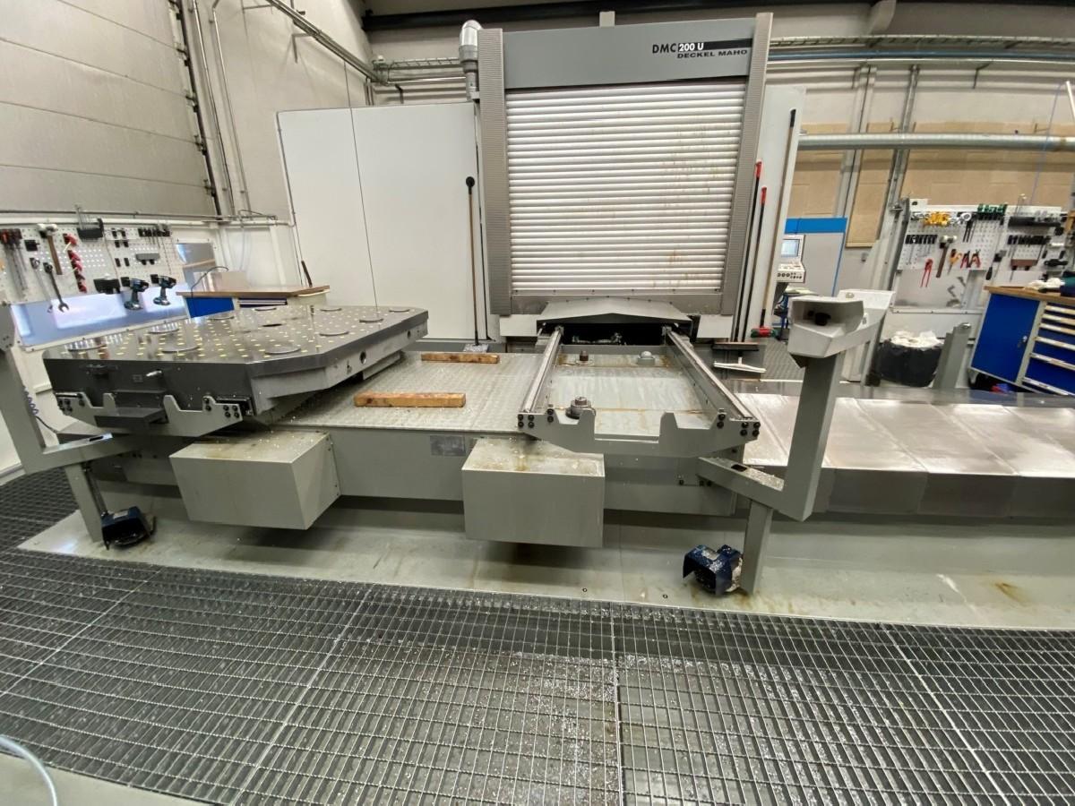 Обрабатывающий центр - универсальный DECKEL-MAHO DMC 200U фото на Industry-Pilot