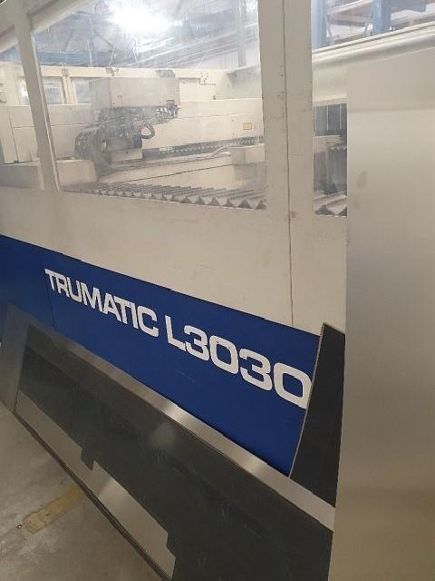 Станок лазерной резки TRUMPF TRUMATIC L 3030 фото на Industry-Pilot