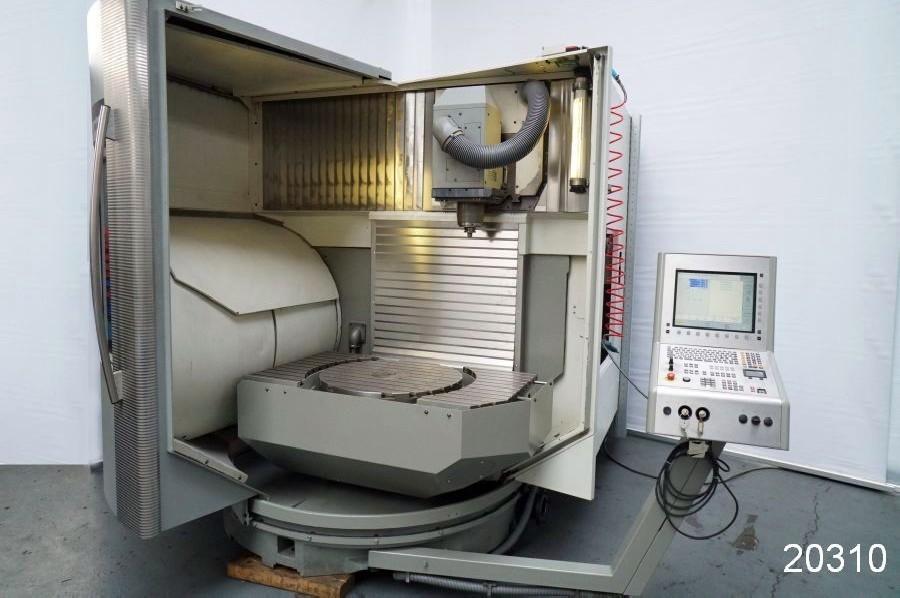 Обрабатывающий центр - универсальный DMG  (5-Осей) DMU 80 T - iTNC 530 фото на Industry-Pilot
