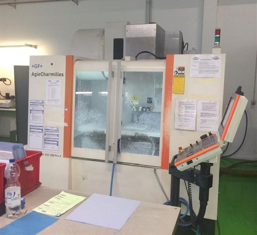 Обрабатывающий центр - вертикальный MIKRON VCE 1000 pro X фото на Industry-Pilot