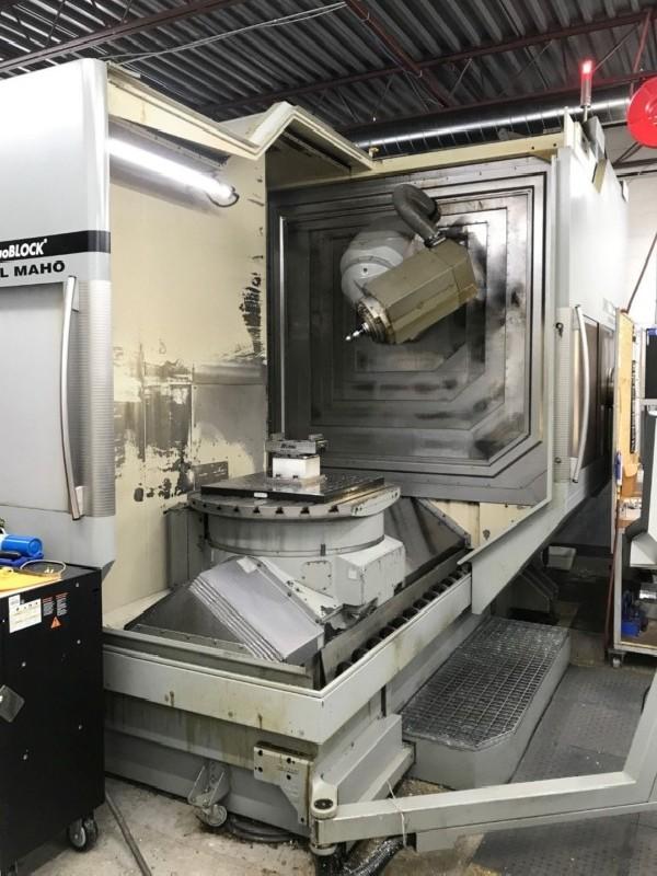 Обрабатывающий центр - универсальный DMG-DECKEL-MAHO DMU 100  P duoBLOCK фото на Industry-Pilot