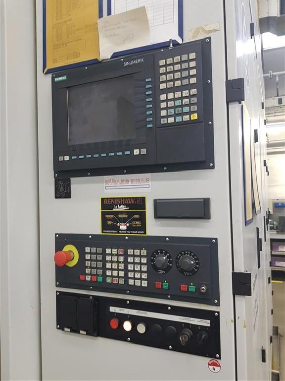 Обрабатывающий центр - горизонтальный HÜLLER-HILLE NBH 170 фото на Industry-Pilot