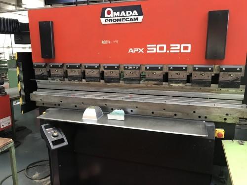 Листогибочный пресс - гидравлический AMADA APX 50.20 фото на Industry-Pilot