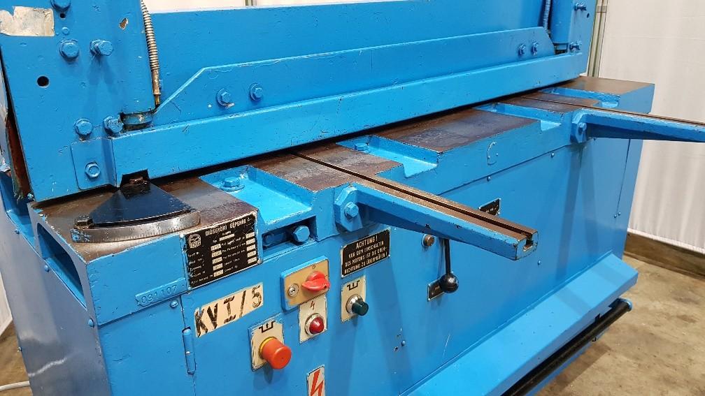 Гильотина механическая DIGEP OL 3 x 1250 фото на Industry-Pilot
