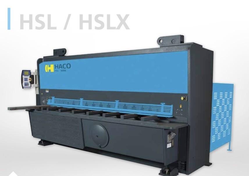 Гидравлические гильотинные ножницы HACO HSLX 4000 фото на Industry-Pilot