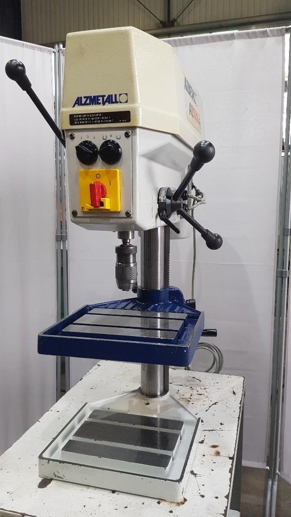 Настольный сверлильный станок ALZMETALL ALZSTAR 15-T/S фото на Industry-Pilot