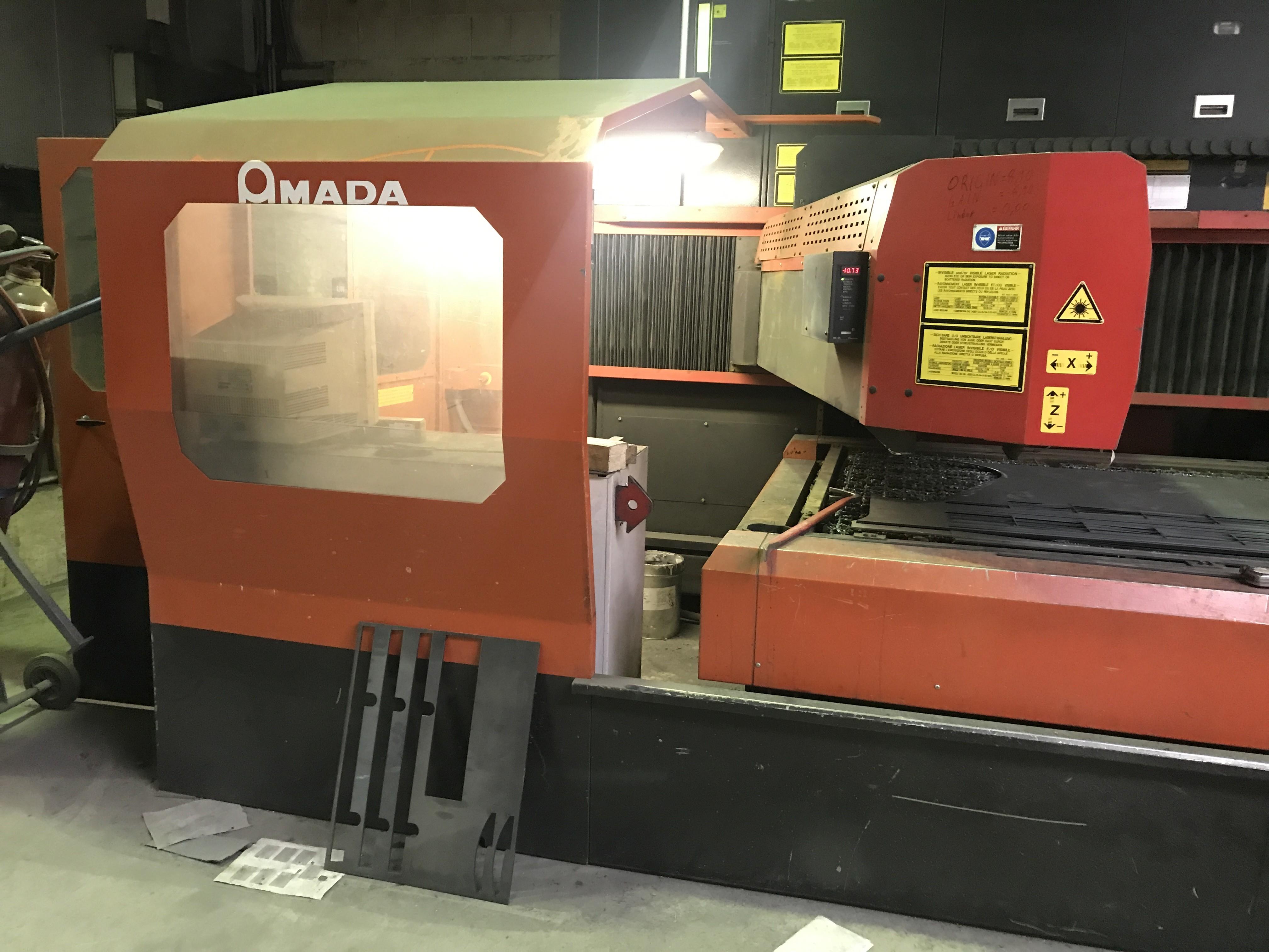 Станок лазерной резки AMADA LC 3015 D2 фото на Industry-Pilot