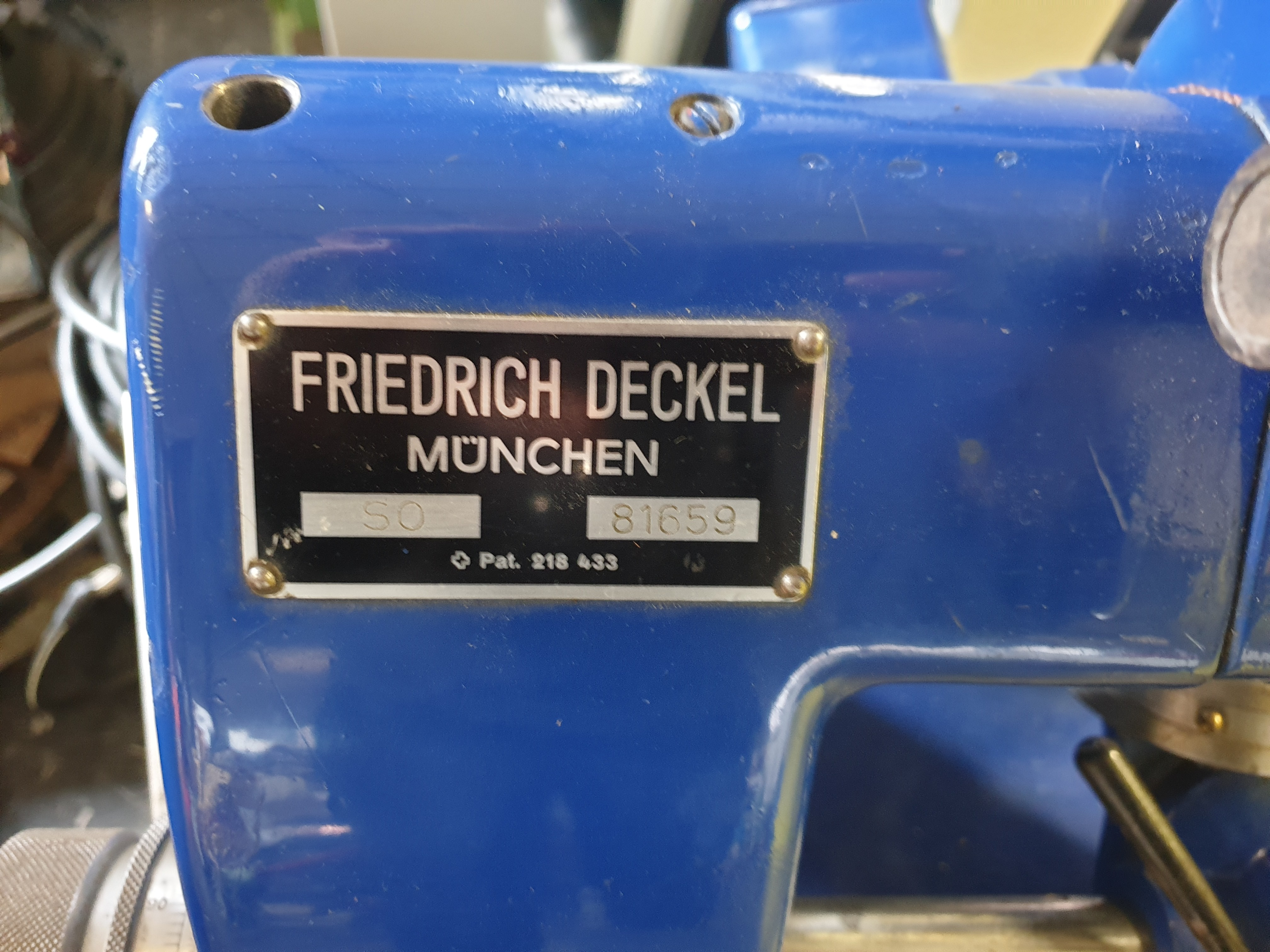 Станок для затачивания инструментов DECKEL SO фото на Industry-Pilot